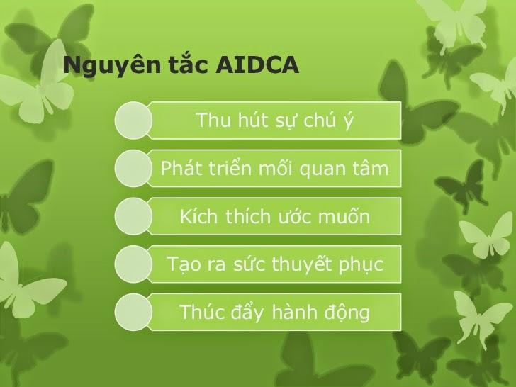 công thức AIDCA