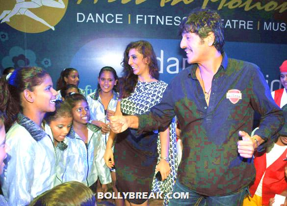 Aanchal Gupta, Chunky Pandey - (4) - Arts In Motion's 'Dance With Joy' 2012 show