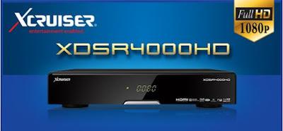 Atualizacao do receptor Xcruiser XDSR 4000 HD V2.2.24