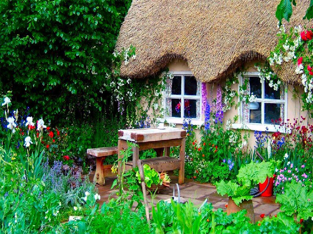 Country gardens wallpaper - English Country Garden Screensaver Desktop Wallpaper 1024 X 768