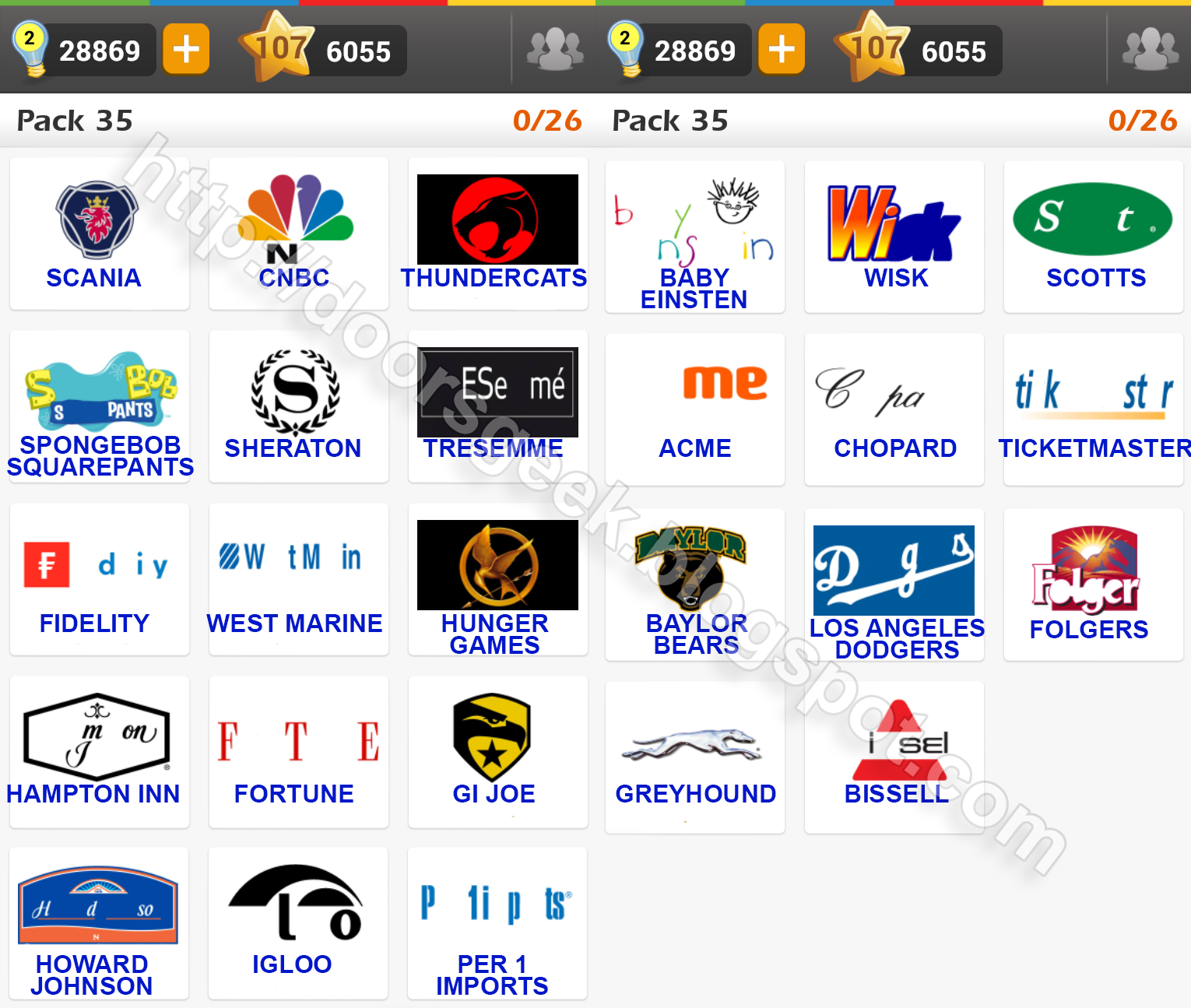Logo game guess the brand bonus cars chainimage - Filename Logo Game Pack 35 Answers Png