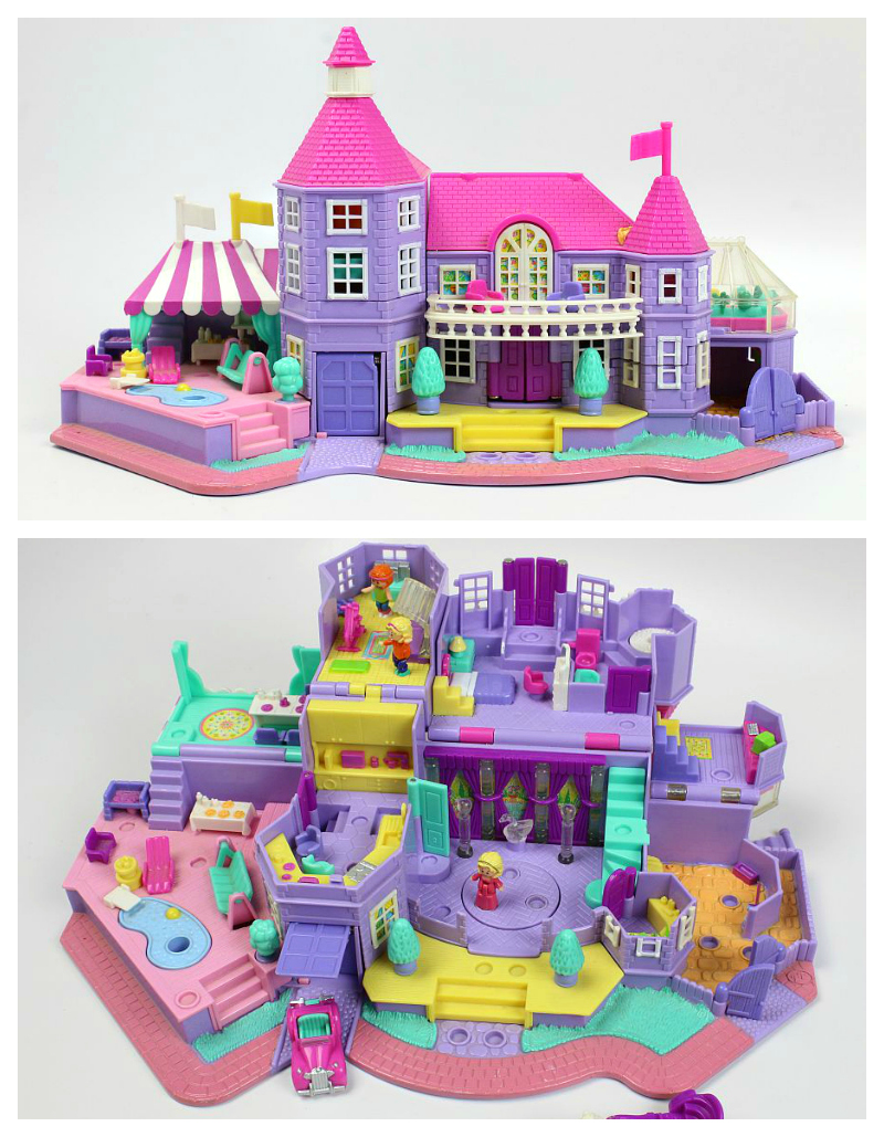 Polly Pocket mansion