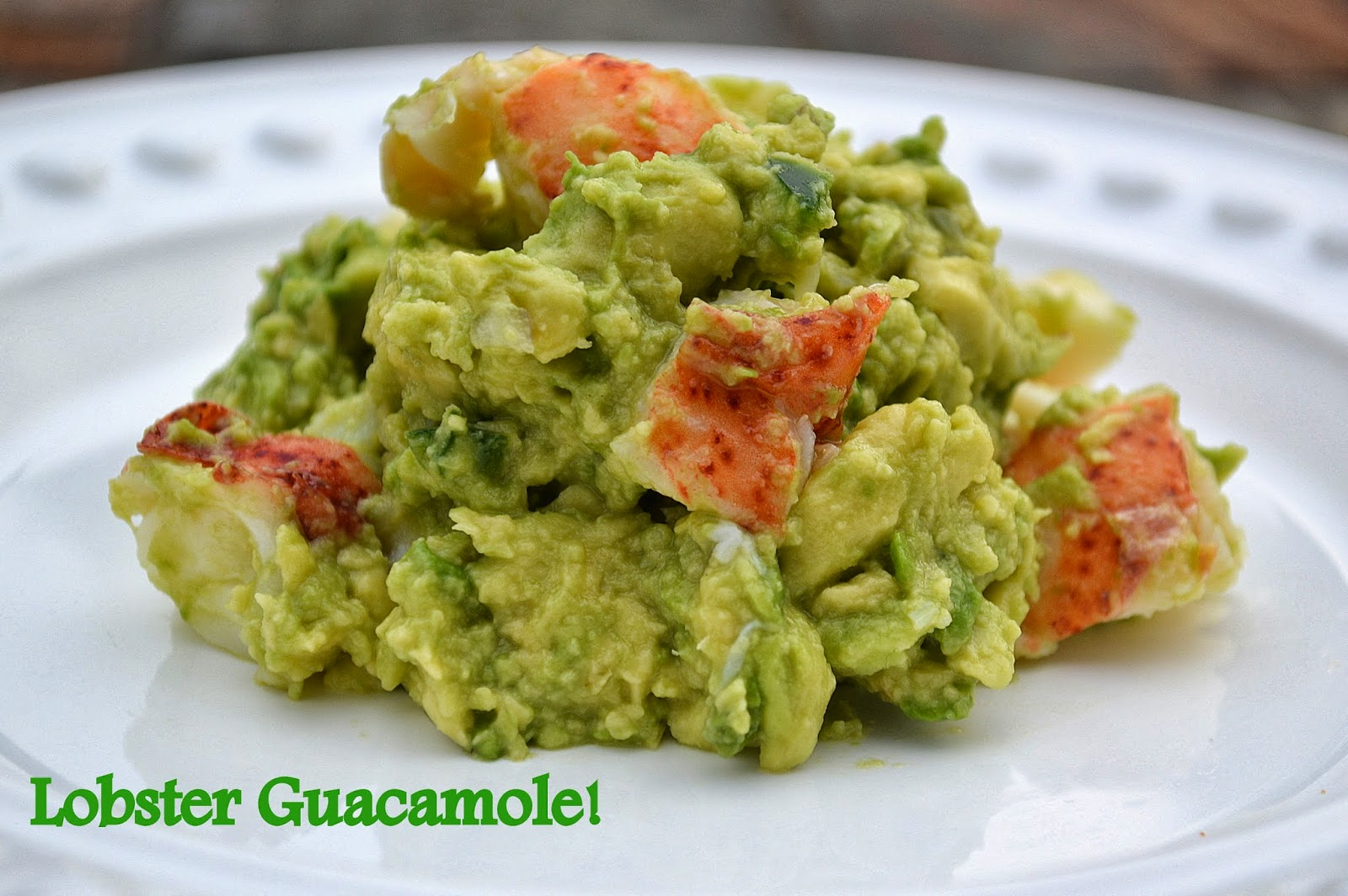 Lobster Guacamole - Souffle Bombay