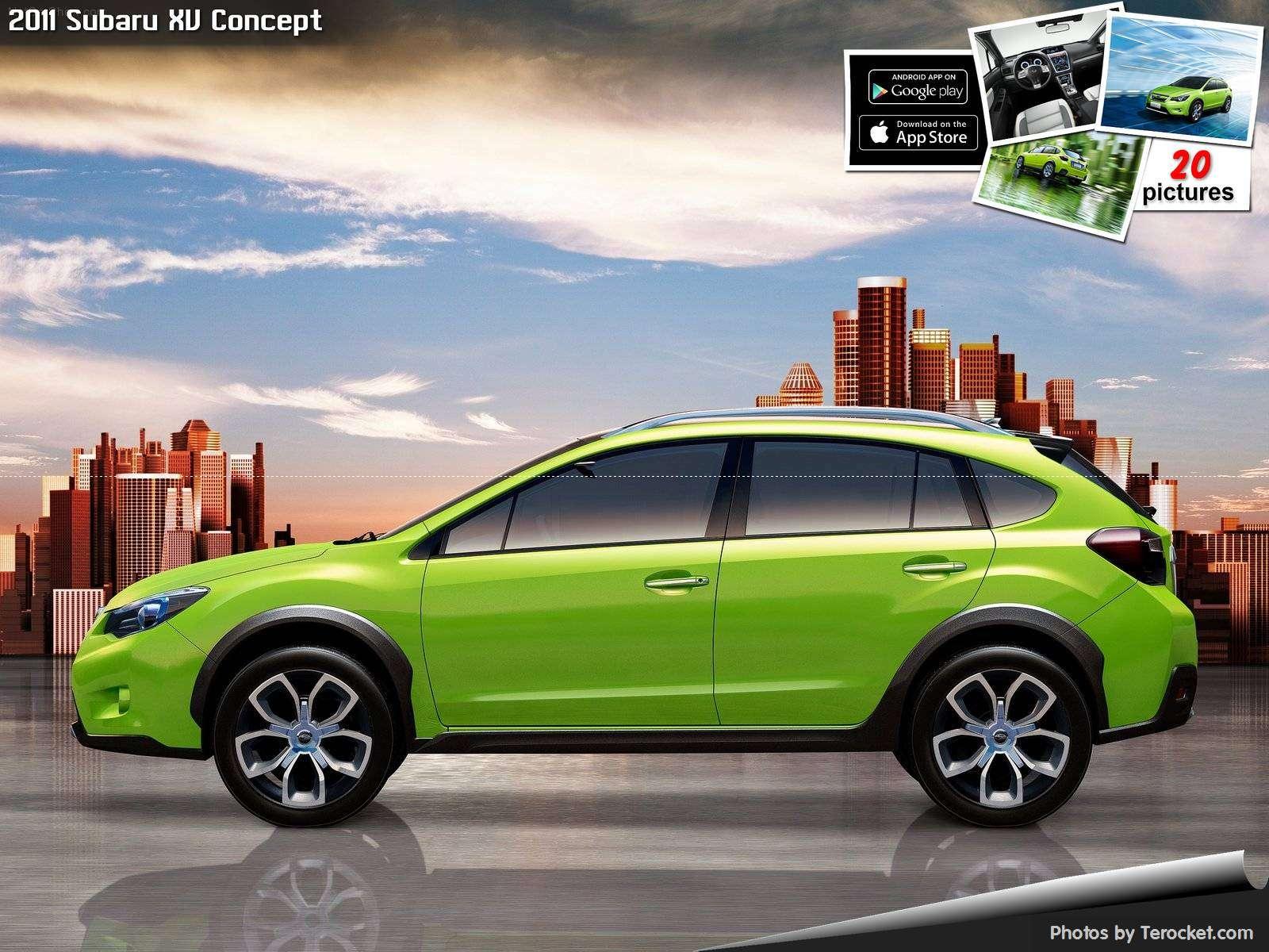 Hình ảnh xe ô tô Subaru XV Concept 2011 & nội ngoại thất