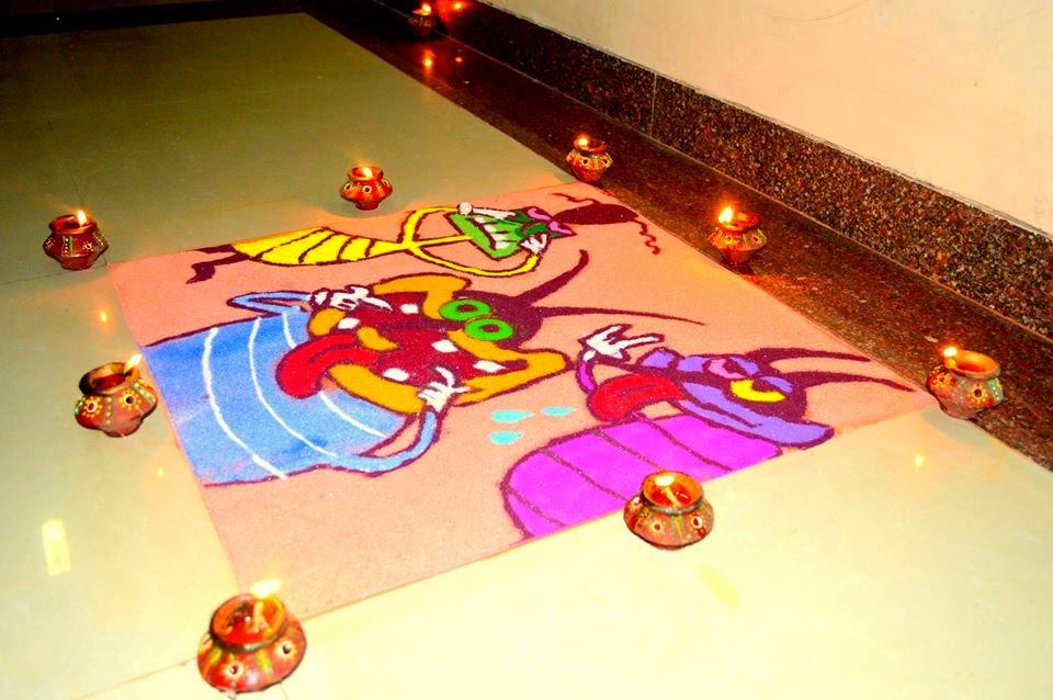 Rangoli Diwali Collection 2014 16
