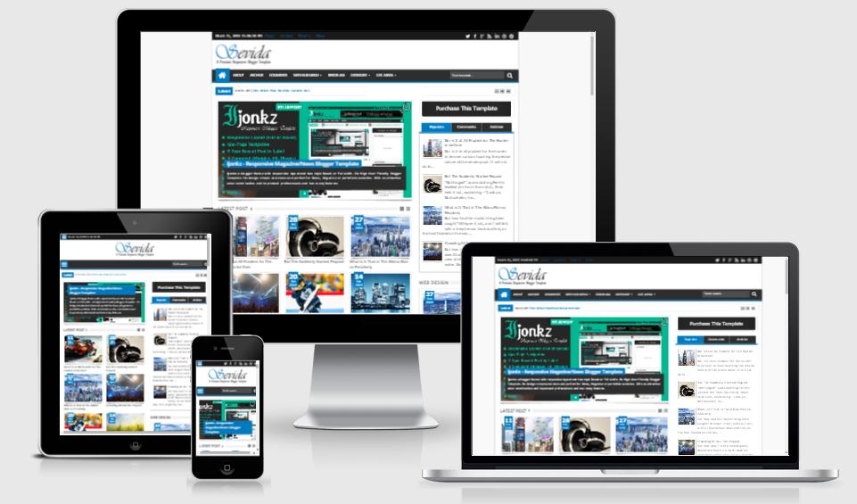 Download Sevida v1.55 – Themeforest Responsive Magazine Blogger Template