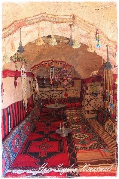 Yöresel Harran Evi'nden bir oda