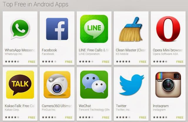 Aplikasi Android Gratis baru populer