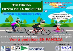 SUSPENDIDA Fiesta de la bicicleta en Algeciras