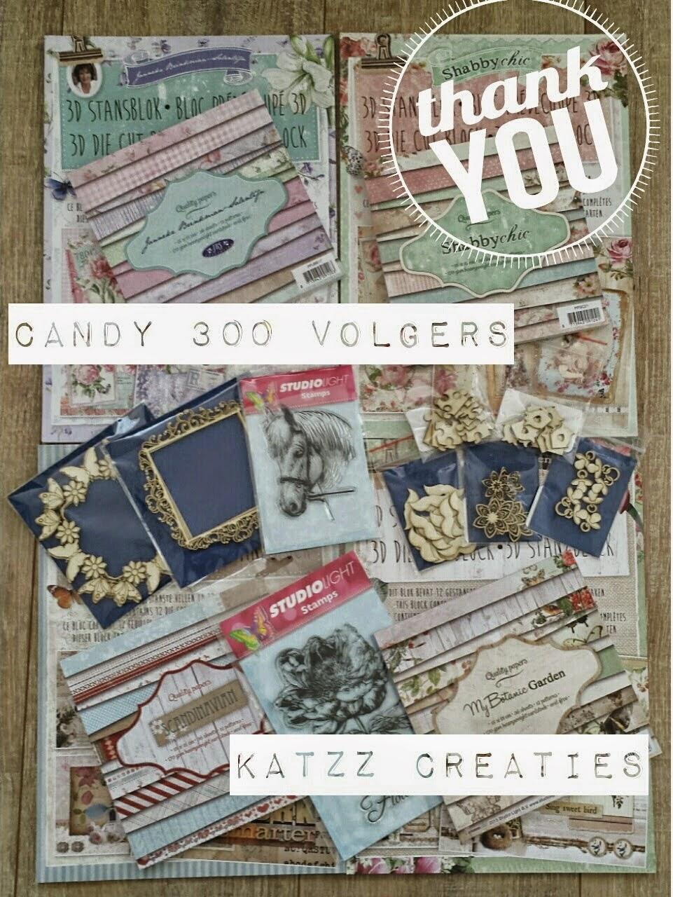 Candy bij Katja 350 volgers