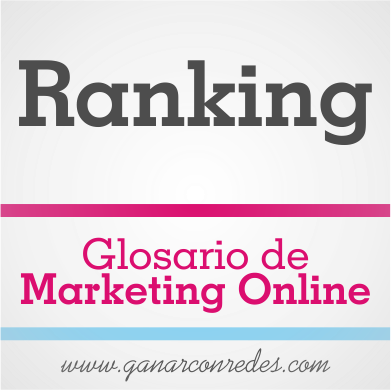 Ranking | Glosario de marketing Online