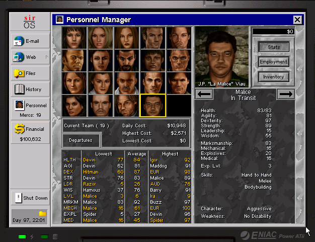 Jagged Alliance 2 - Jean Malice