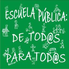 Este blog apoya la educación pública
