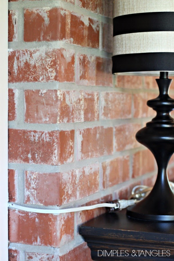 Dimples And Tangles HOW TO USE LAMPS ON A MANTLE WHEN YOU