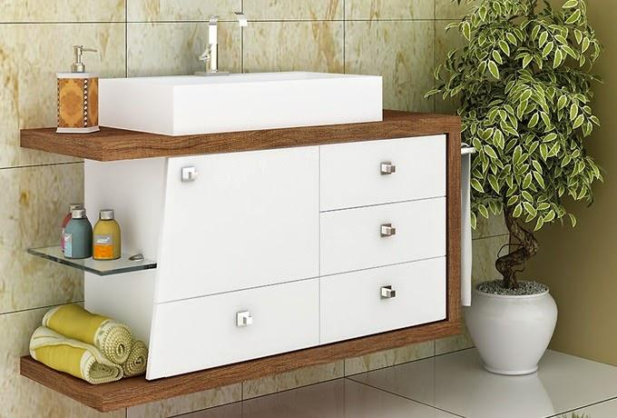 Mc Moveis Planejados em MDF Modelos Balcão de Banheiro -> Banheiros Planejados Df