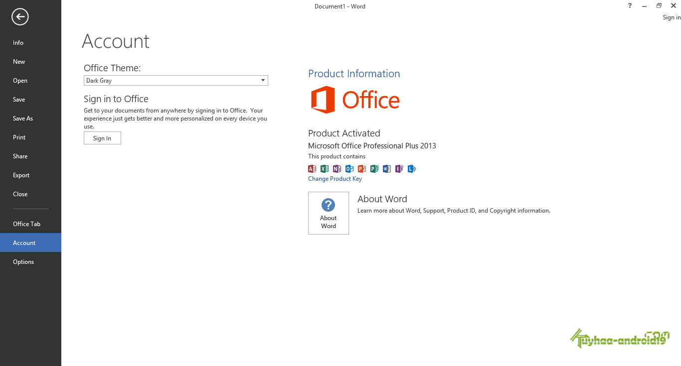 Microsoft Office 2013 Full AIO