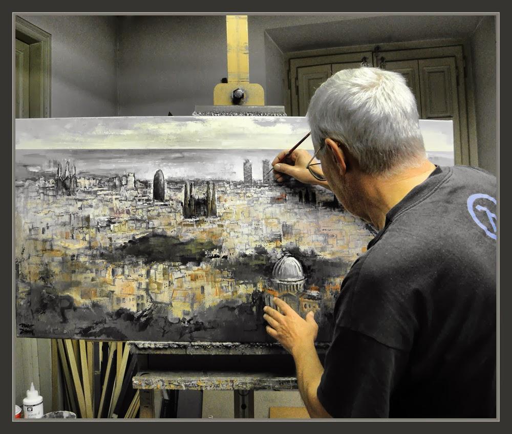 ernest descals artista pintor barcelona pintura paisajes