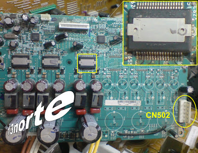 CXD9879M en corto
