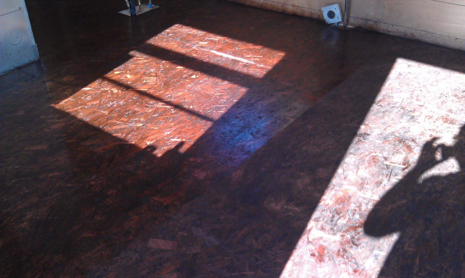 Staining And Varnishing An OSB Floor.