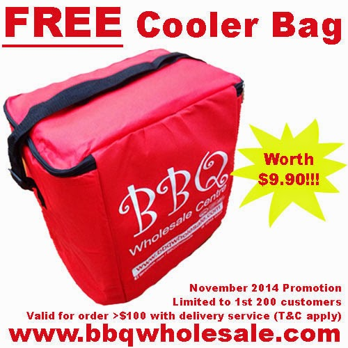 Free Cooler Bag - BBQ Wholesale Centre