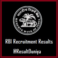 RBI Assistant Exam Result 2015
