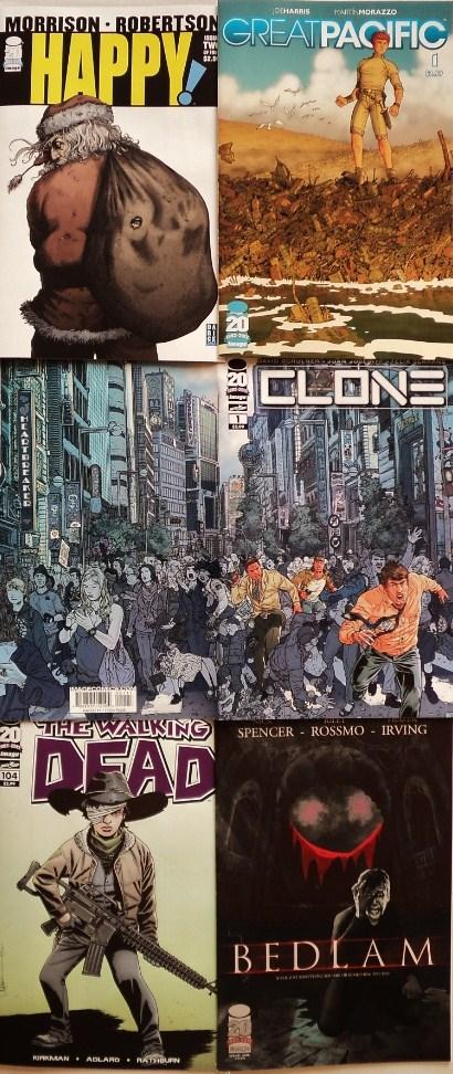 November comic books / cómics de noviembre
