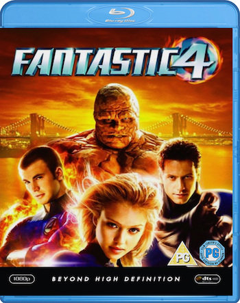 Fantastic Four 1 (2005) Dual Audio Movie Download