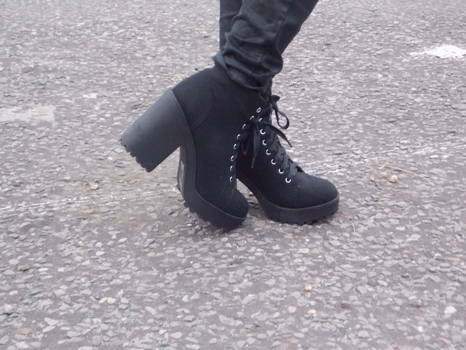 shoe heaven h m platform boots fashion on the reel