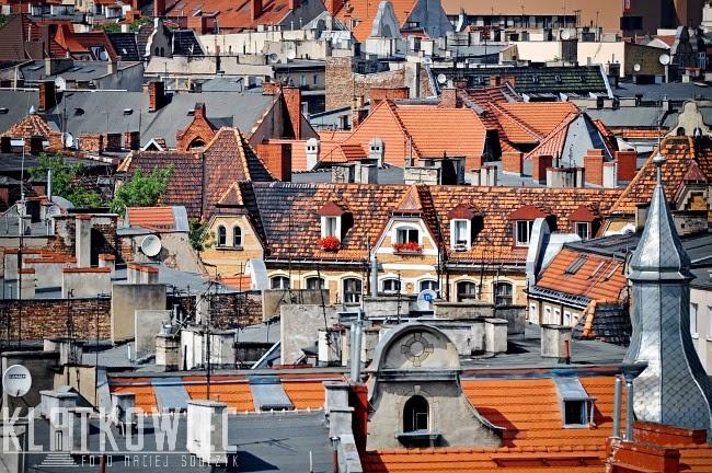 Nad dachami poznańskiego Łazarza
