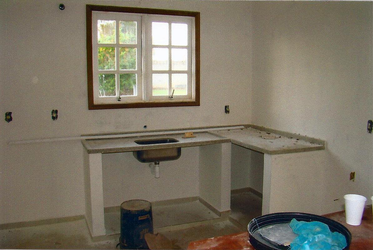 hj é a vez da cozinha esse espaço foi feito uma cozinha provisória #258FA6 1194 800