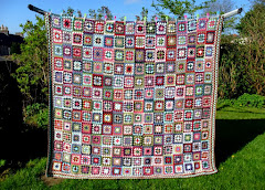 Big Granny Squares Blanket