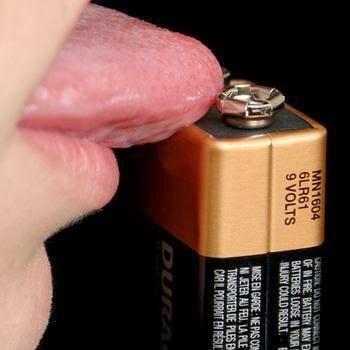 how to test a 9 volt battery on your tongue how to fix. Black Bedroom Furniture Sets. Home Design Ideas