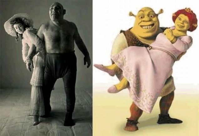 ... nyata yang mirip Shrek, si Ogre yang hidup di rawa-rawa? ...cukup aneh