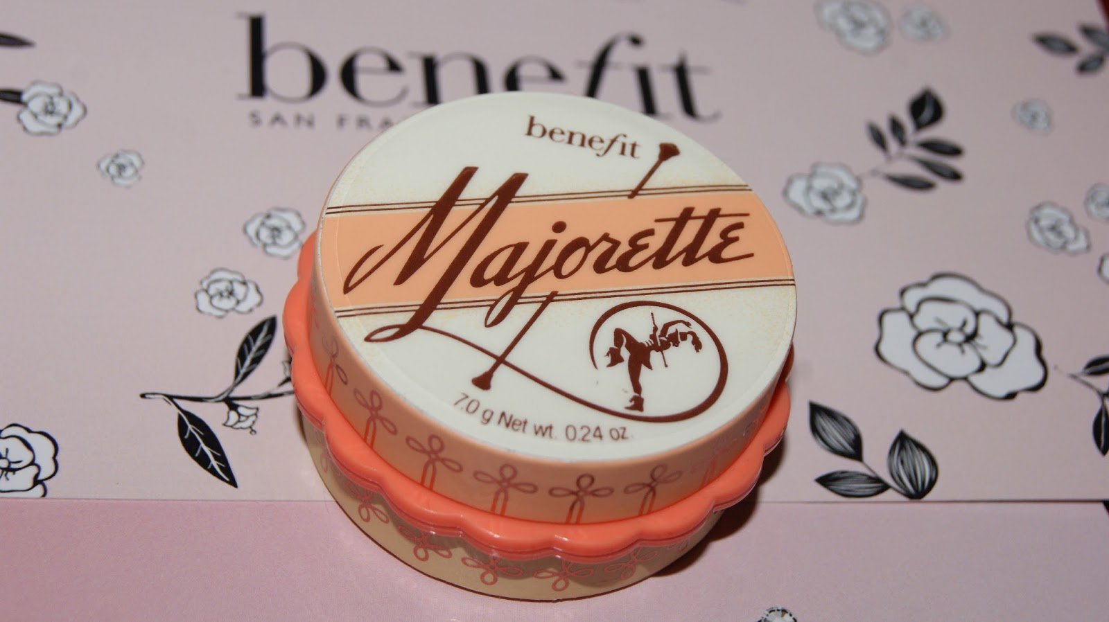 packaging on benefit cosmetics' majorette