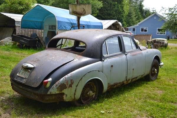 Restoration project cars 1958 jaguar mki restoration project for American restoration cars for sale