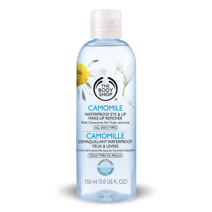 The Body Shop, The Body Shop Camomile Waterproof Eye Make-Up Remover, waterproof makeup, makeup remover, beauty trends