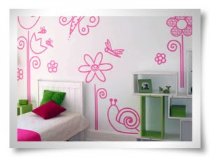 Quarto decorado rosa
