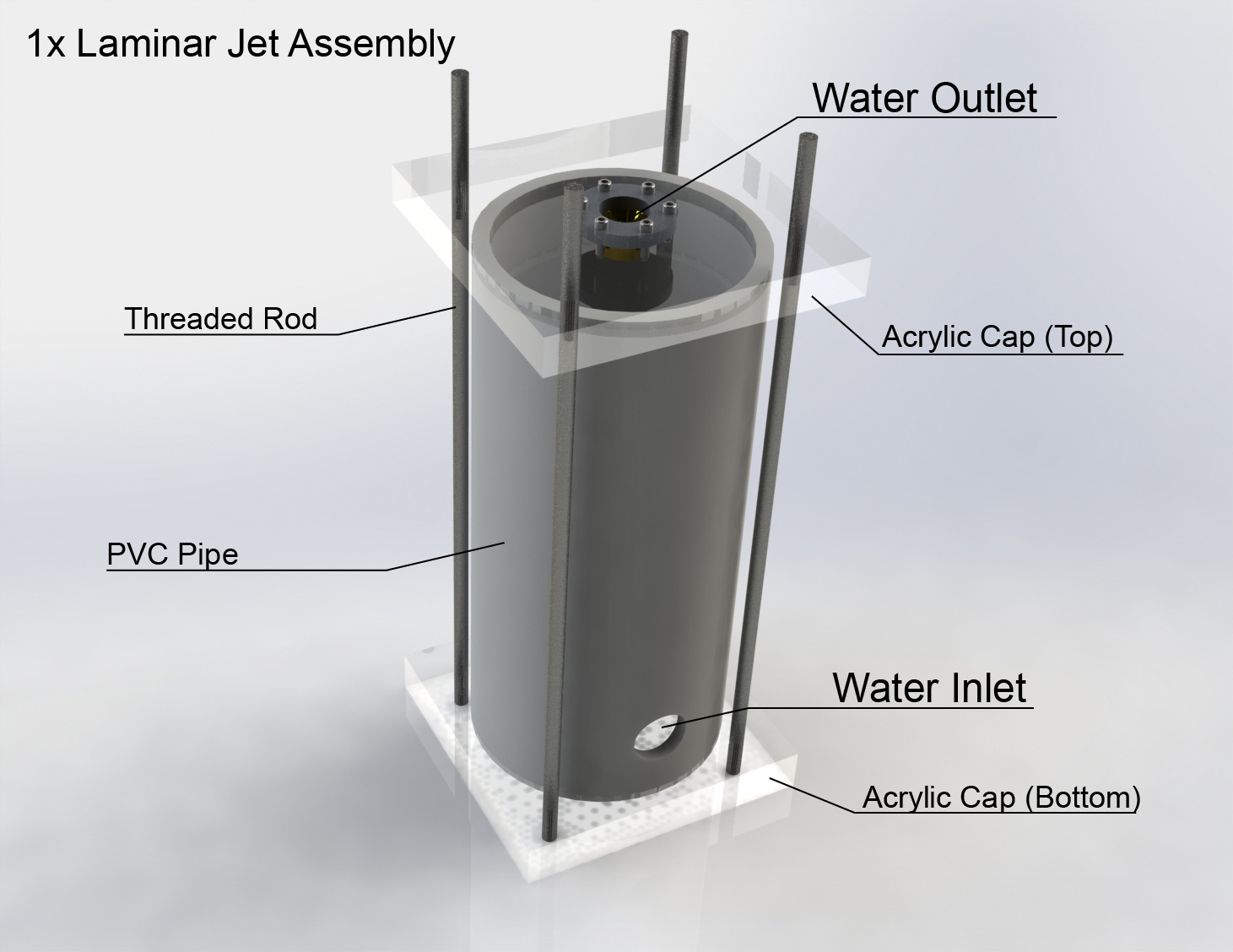 Project introduction laminar fountain