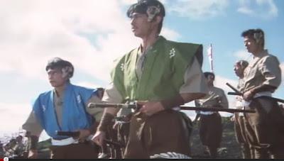 Mirai Ninja scifi samurai