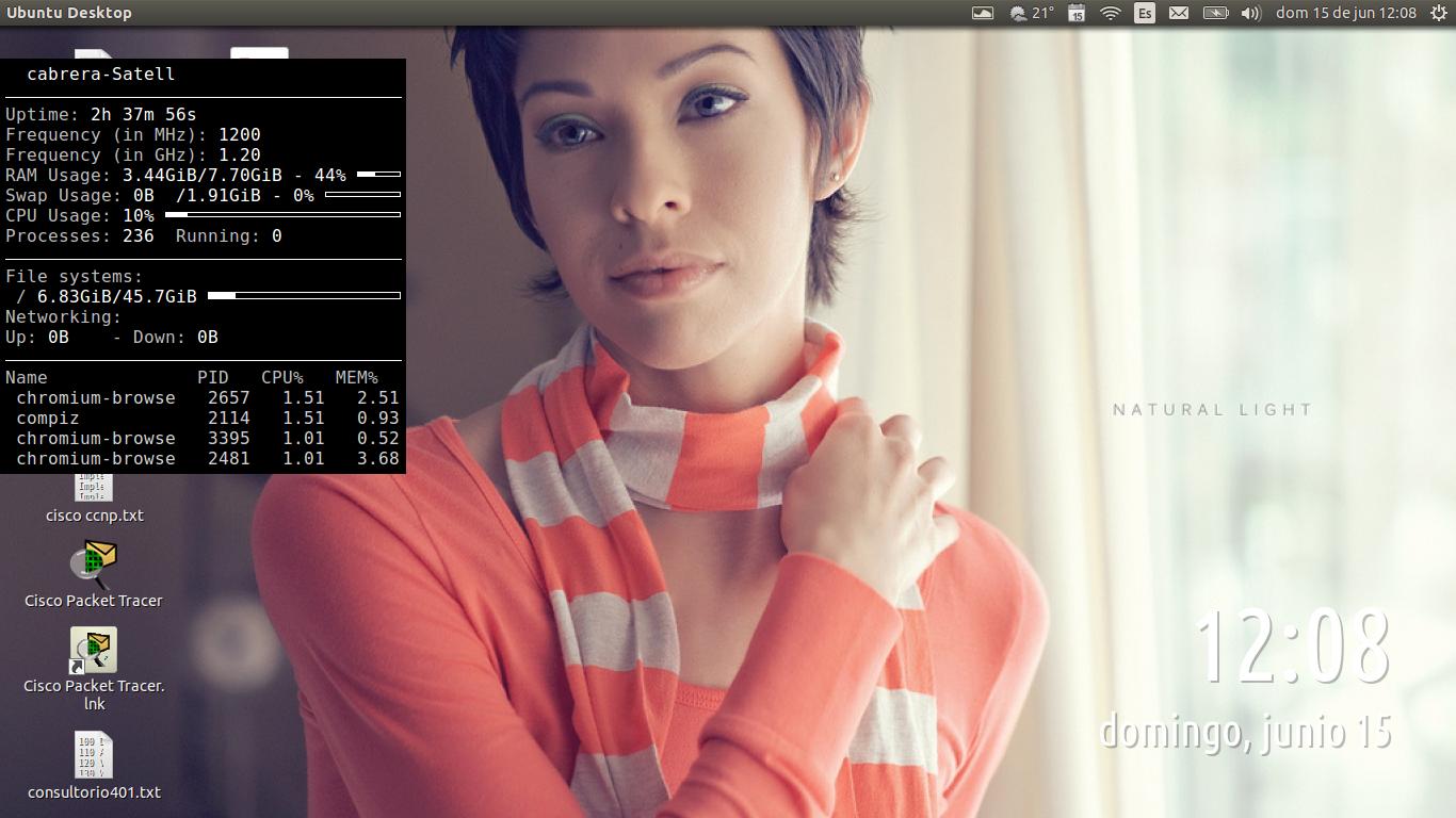 DriveMeca instalando Conky en Ubuntu