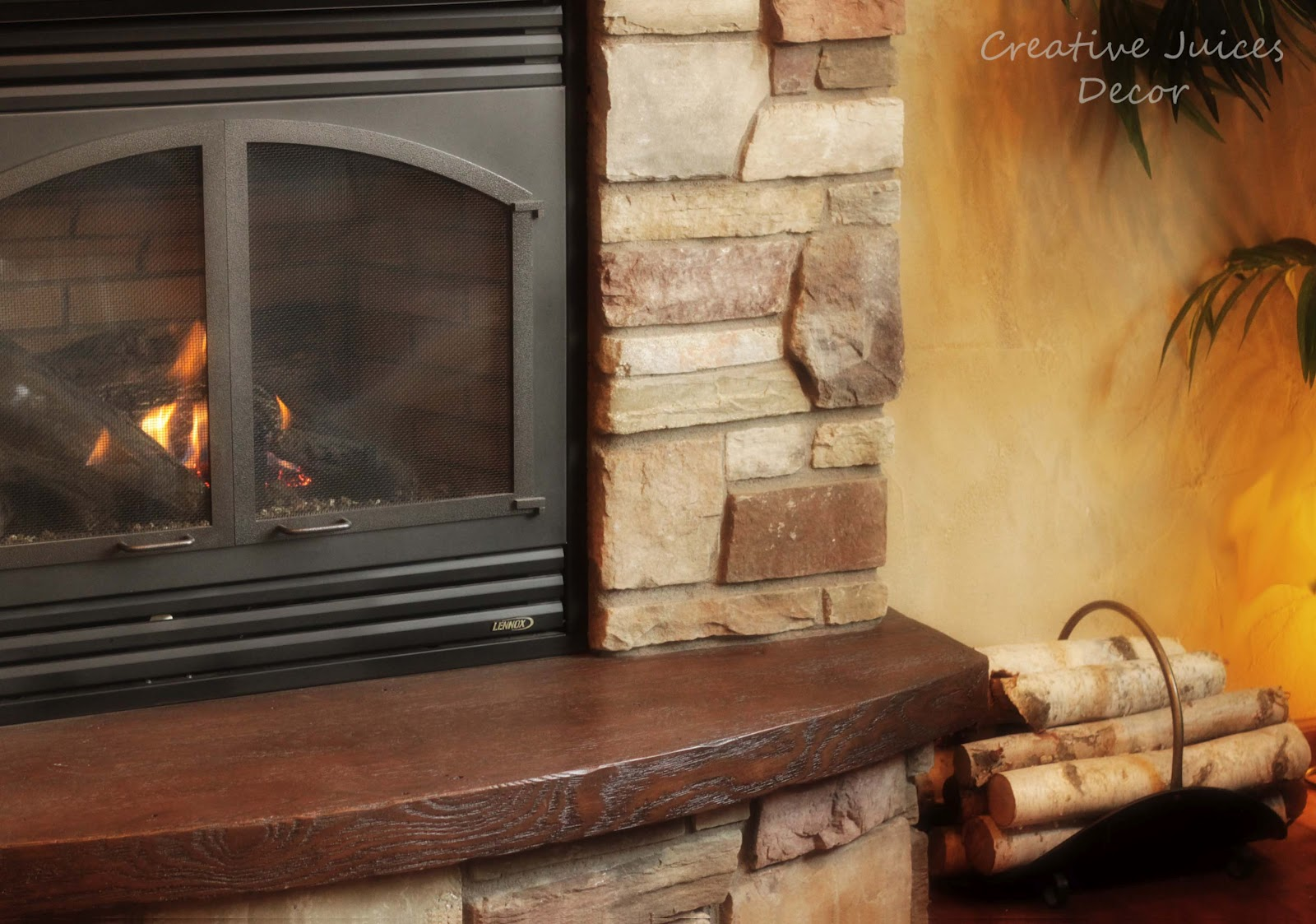 creative juices decor how to decorate with birch logs add