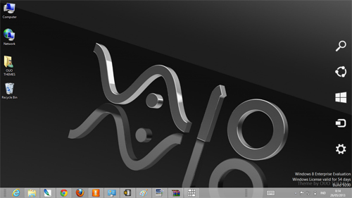 Sony Vaio Theme For Widows 7 And 8