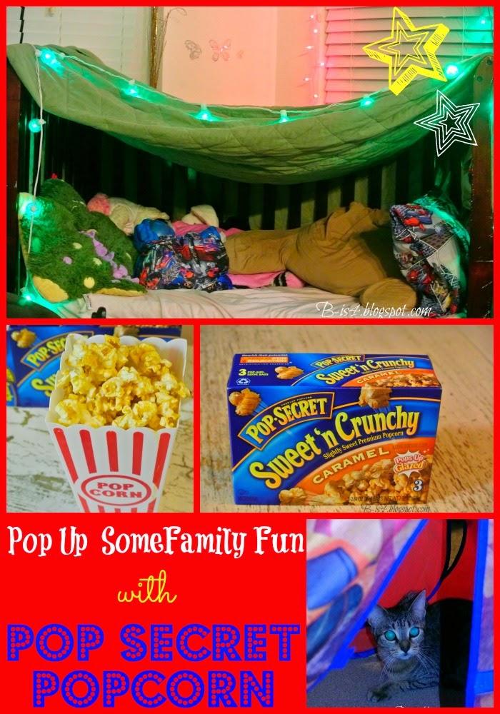 Pop Secrets Pillow Fort Giveaway