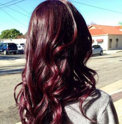 merah gelap burgundy