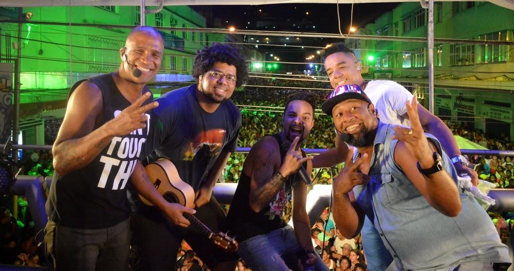 Grupo Bom Samba leva para Regadas muito samba, com levada de rap e black music