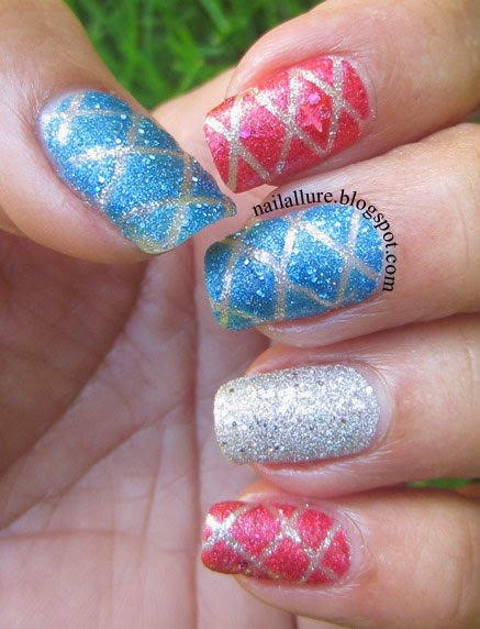 Textured Quilted Nails