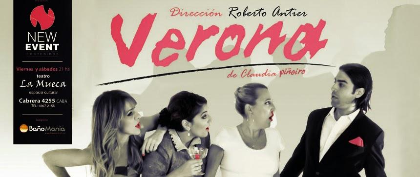 Verona, una obra de Claudia Piñeiro