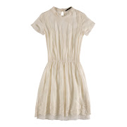 This white dress from Zara SS'12 collection keeps it basic yet fashionable .