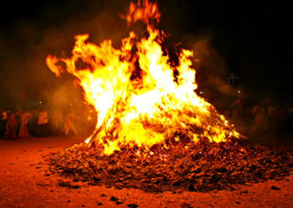 Holika Dahan Or Chhoti Holi