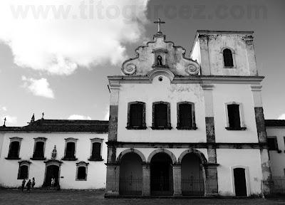 Igreja de São Francisco e Museu de Arte Sacra, em São Cristóvão - Sergipe - Por Tito Garcez